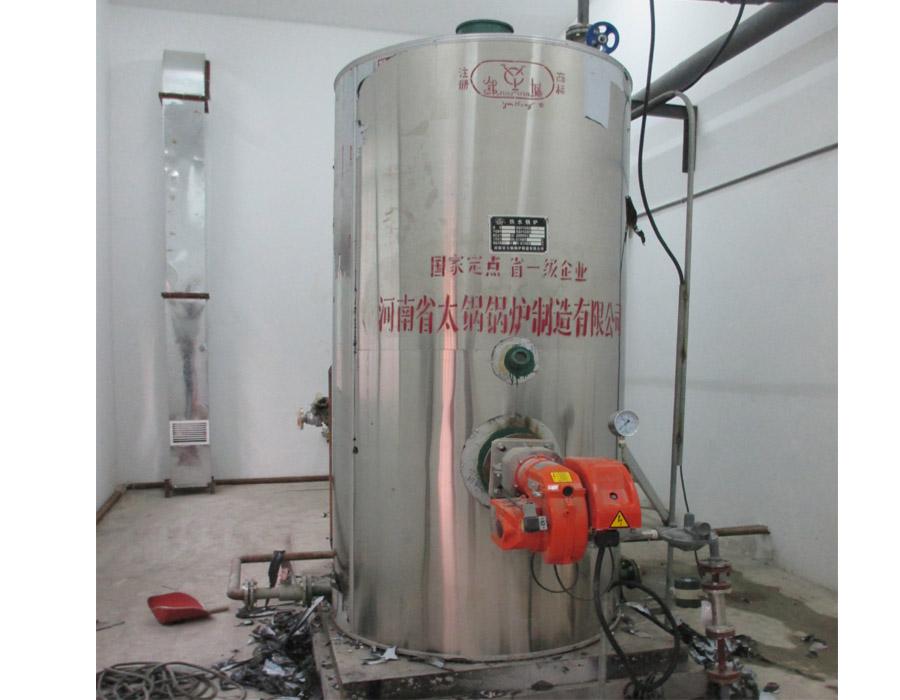 南京某客户实验室用河南新万博app手机版下载半吨立式燃气热水万博manbetx手机版下载